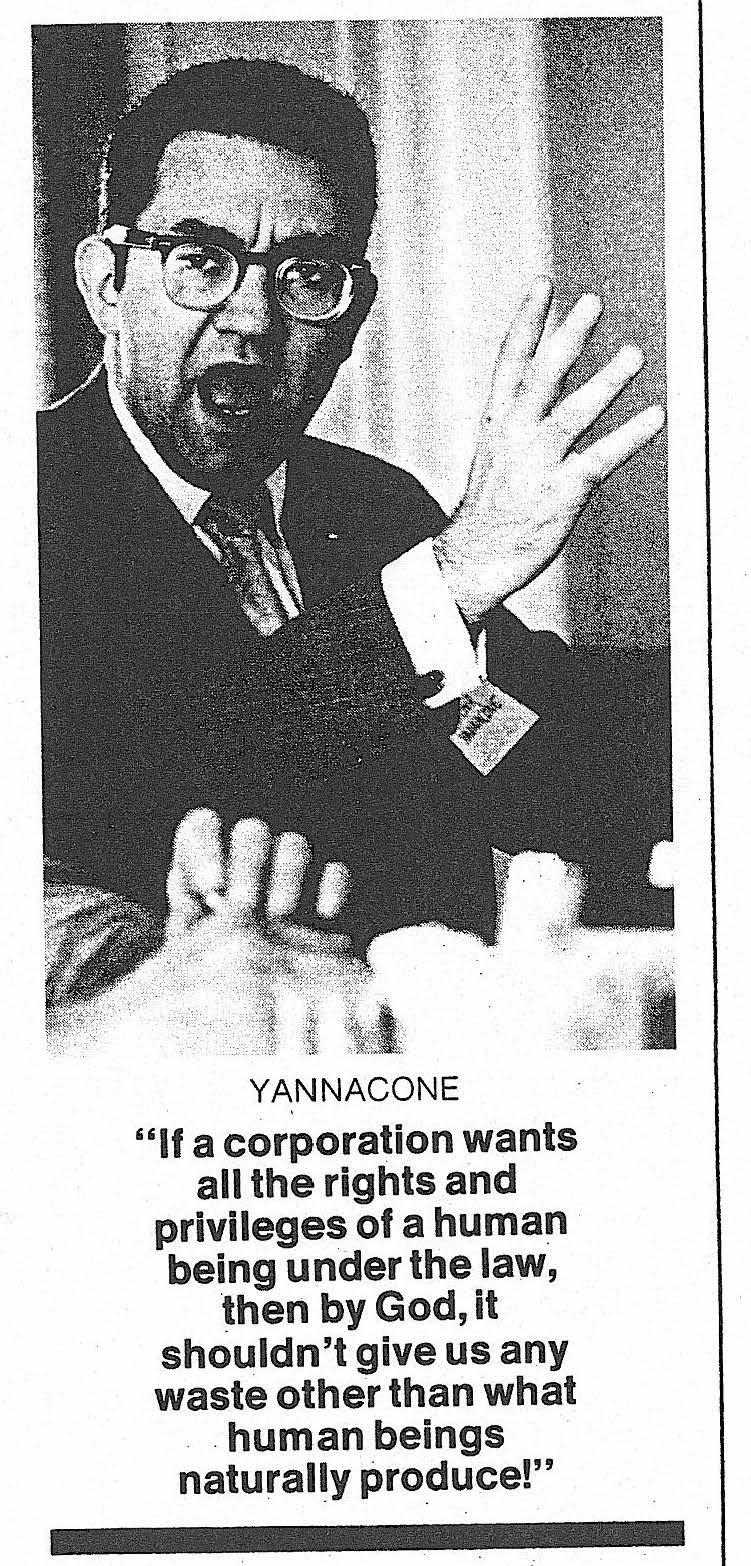 """Yannacone: """"Turning America around"""" 1971"""