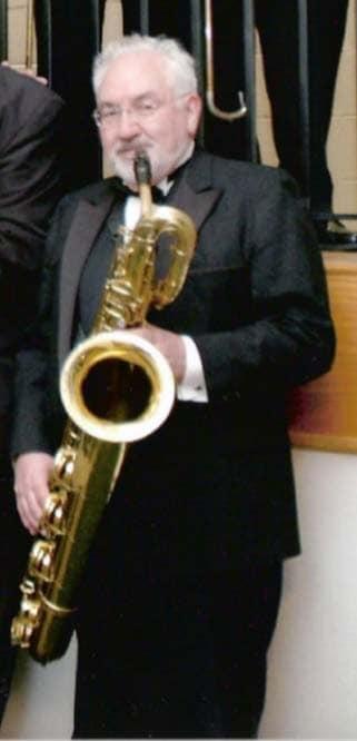 Yannacone & his bari sax